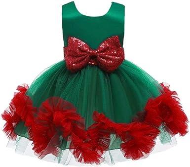Red ROSEY Disfraz de Navidad para niños Falda de Fiesta de Duende ...