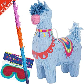 Juego de piñata con máscara y Pala, Hecha a Mano, Ideal para ...