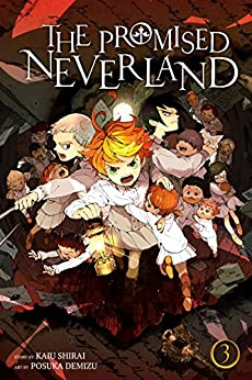 The Promised Neverland, Vol. 3: Destroy! by [Shirai, Kaiu]