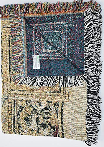 Pure Country Weavers ''Music in the Garden Blanket'' Tapestry Throw by Pure Country Inc. (Image #2)