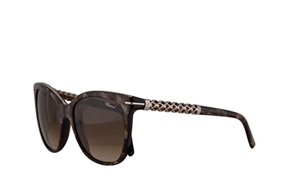 26bbf95514f2 Image Unavailable. Image not available for. Color  Chopard SCH207S  Sunglasses Horn Dark Red w Brown Gradient Lens ...