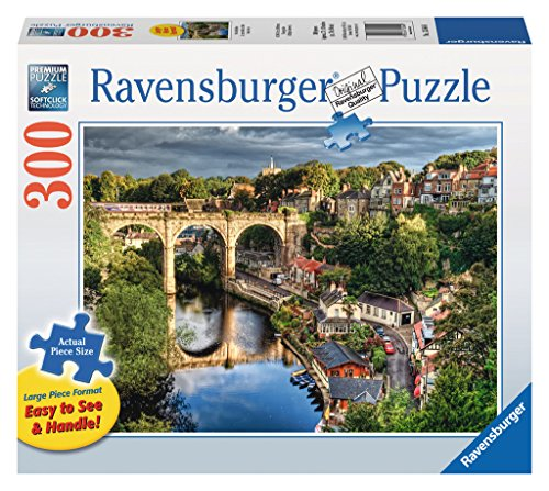 Ravensburger Over The River Large Format 300 Piece Jigsaw Puzzle for Adults - Every Piece is Unique, Softclick Technology Means Pieces Fit Together Perfectly