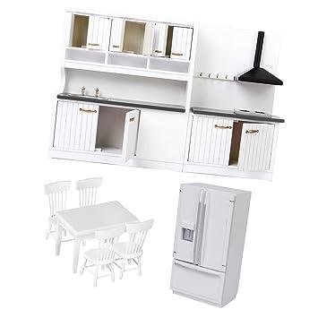Amazon.es: B Blesiya 1/12 Dollhouse Miniatura Muebles De Cocina ...