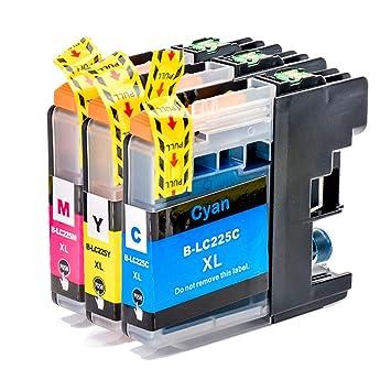 Teng Cartuchos de Impresora con Chip Compatible con LC229XL ...