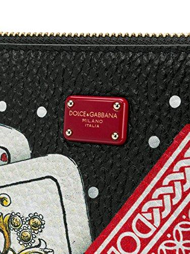 Dolce E Gabbana Borsa A Spalla Donna BB6492AN931HHN61 Pelle Nero Comprar Barato Últimas Colecciones fNpOIXcjK
