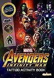 Avengers Infinity War - Tattoo Activity Book