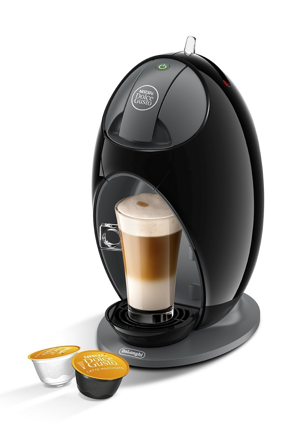 Nescaf Dolce Gusto Coffee Machine Jovia Manual Coffee by De'Longhi EDG250.B - Black (Certified Refurbished) Delonghi