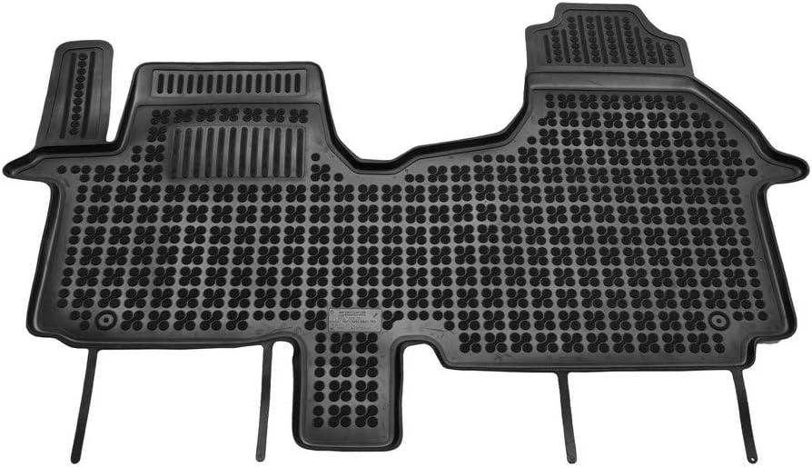 Tapis de voiture en caoutchouc pour toutes saisons Tapis de sol de qualit/é sup/érieure Tapis auto sur mesure noir 4D-RIG-0383