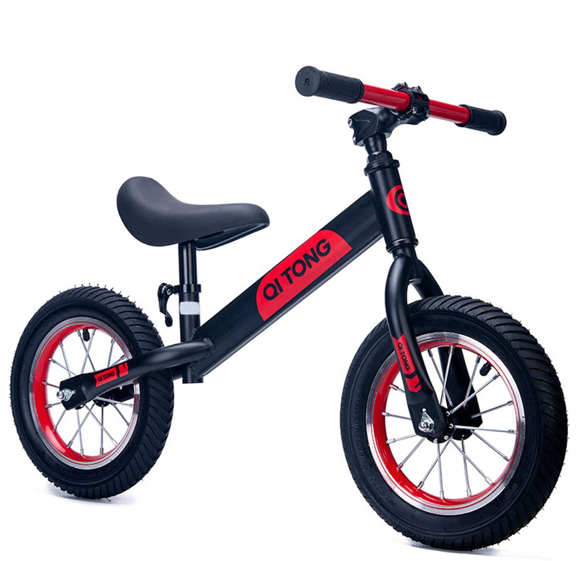 Gostorechoice Kids Balance Bike No Pedal Learn to Ride Pre Bike Adjustable Height Age 2-6 Years (Black)