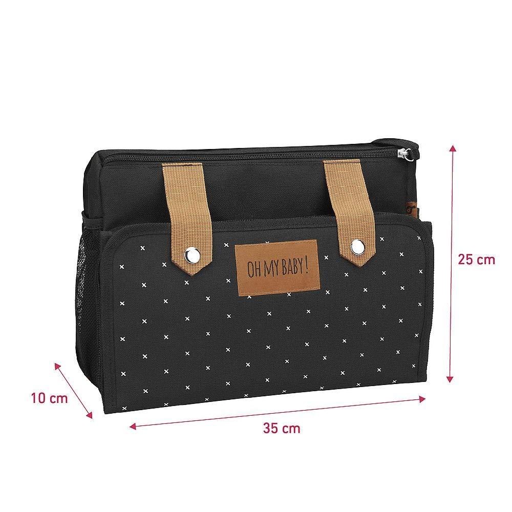 inkl Kinderwagentasche und Buggy Organizer Badabulle Easy Travel Kinderwagen-Organizer Wickelunterlage