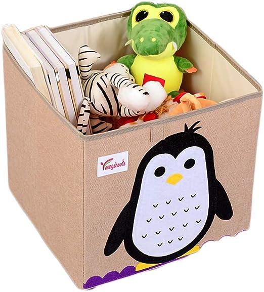 SWECOMZE - Caja de almacenaje para habitación Infantil, Plegable ...