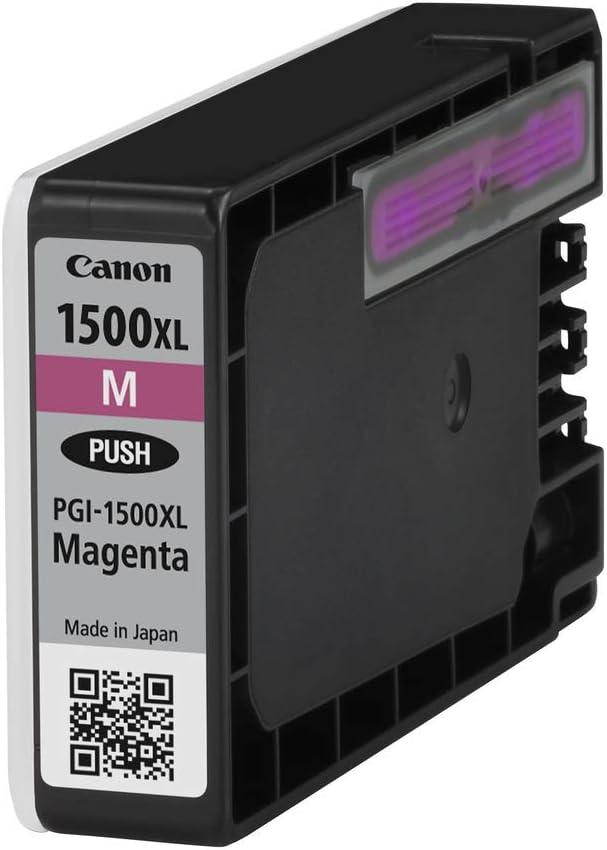 Canon Tintenpatrone Pgi 1500 Xl M Magenta 12 Ml Original Für Maxify Drucker Bürobedarf Schreibwaren