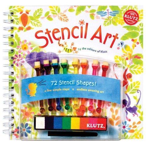 Klutz Stencil Art Kit