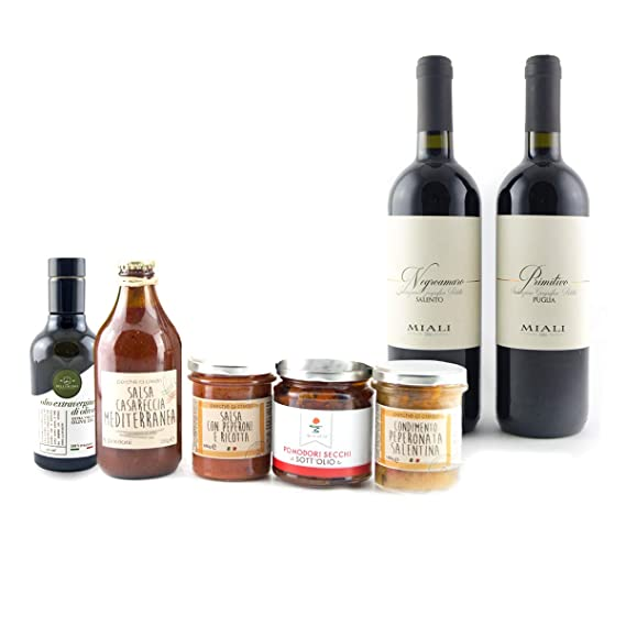 The Real Italian Appetizer - Food Box Mix dedicated to the most delicious Apulian food products