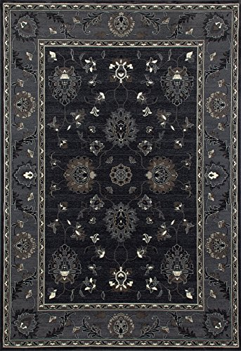 Maison 6 Light (Art Carpet Maison Collection Simply Open Woven Area Rug, 6' x 9', Gray/Light Gray/Mushroom Brown)