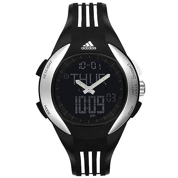 adidas ADP1867 - Reloj analógico y digital de cuarzo para hombre con correa de caucho, color negro: Adidas: Amazon.es: Relojes