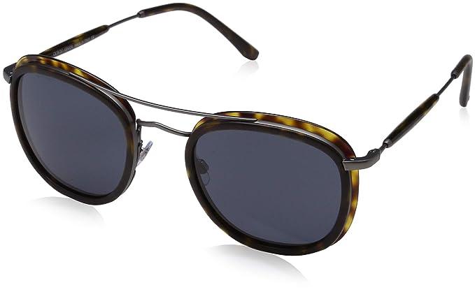 Armani 0AR6054 300387 51, Gafas de Sol para Hombre, Marrón ...