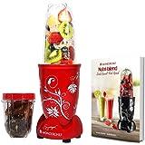 Wonderchef Nutri-Blend 400 Watts Juicer Mixer Grinder (Red)