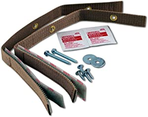 Quakehold! 4161 Furniture Strap Kit, Oak