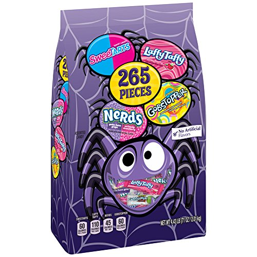 Nestle Halloween Candy (Nestle Assorted Halloween Sugar Bag, 265 pieces, 71)