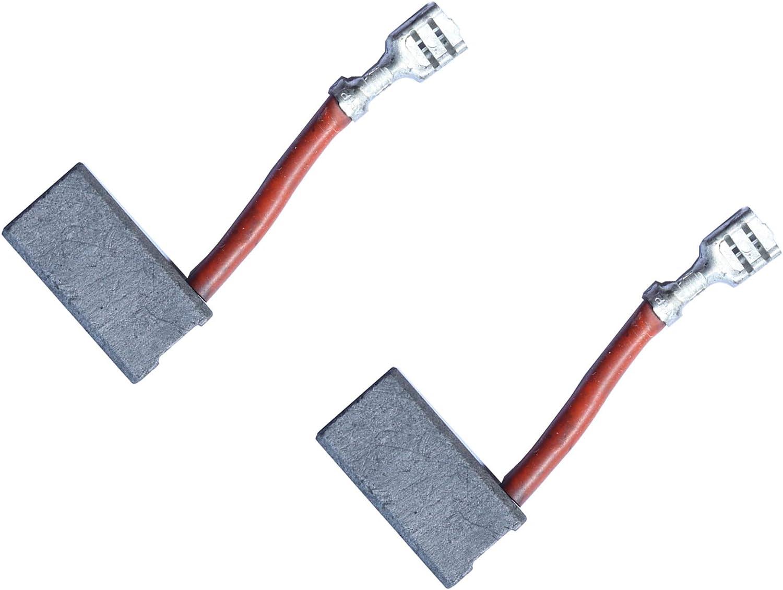 With Auto Stop 6.3x12.5x21.5mm Carbon Brushes DEWALT DW744XP saw