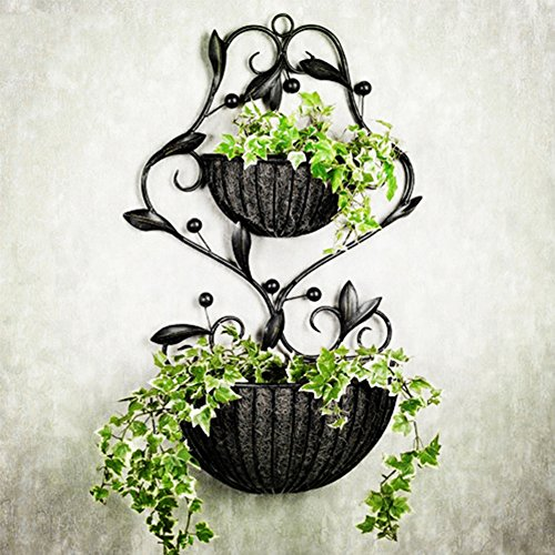 Wall Baskets For Flowers - 6