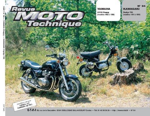 Yamaha lb 50 Chappy (de 82 à 96) Kawasaki Zephyr 750 (de 91 à 96)