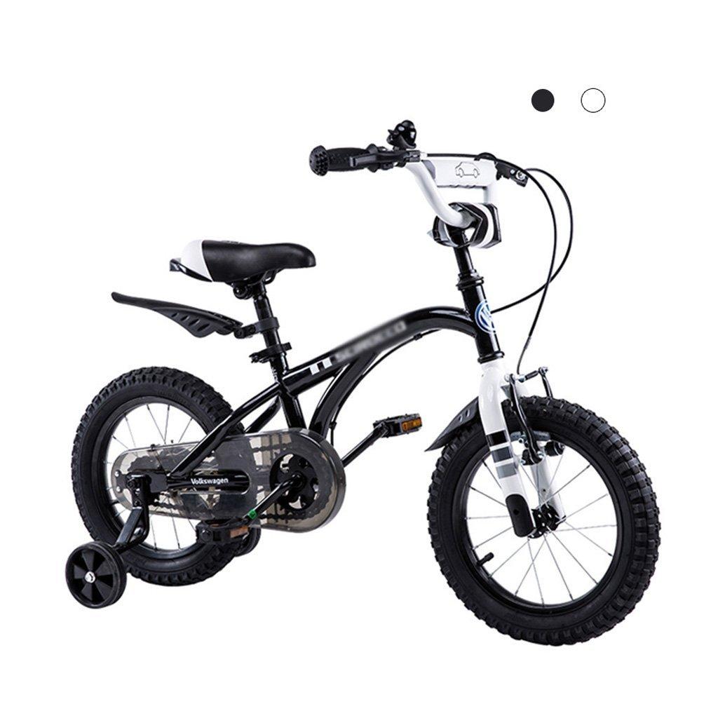 子供用自転車フォルクスワーゲン子供用自転車12,14,16子供用自転車 (Color : Black, Size : 14 inches) 14 inches Black B07G2Y1KSG