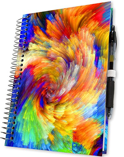 Tools4Wisdom Planners 2018 Planner - 5x8 - Premium Spiral Hardcover w Full Color Pages - Daily Weekly Monthly Yearly Day Planner - Dated January to December Calendar Year
