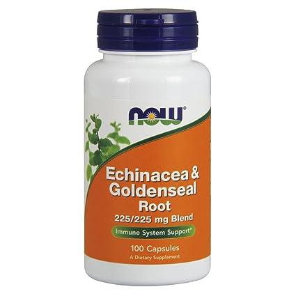 Echinacea y sello de oro de raíz, 100 Cápsulas - Now Foods