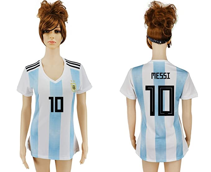 quality design a33e1 8c435 2018 Russia World Cup Argentina Home Women's Soccer Jersey