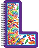 "iscream Letter L Shaped Spiral-Bound Lined-Page 6.5"" Initial Notebook"