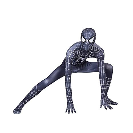 LHKJB Spiderman Anime Traje Negro Digital 3D Siameses ...