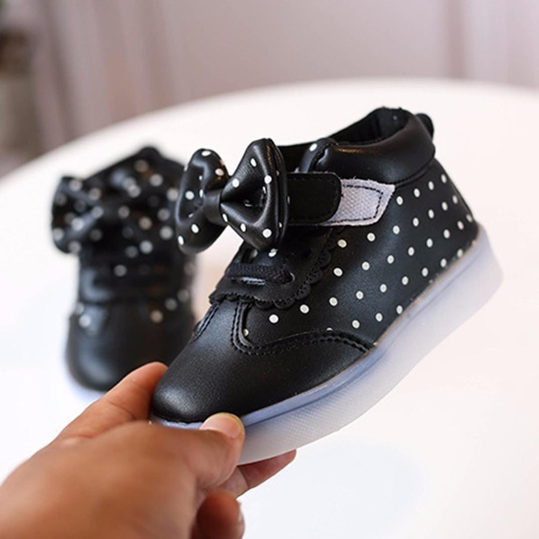 153e17eef Zapatos de bebé niña Niños Zapatillas para Niñas Niños Zapatos de chica  chico Patucos Zapatillas luminosas ...