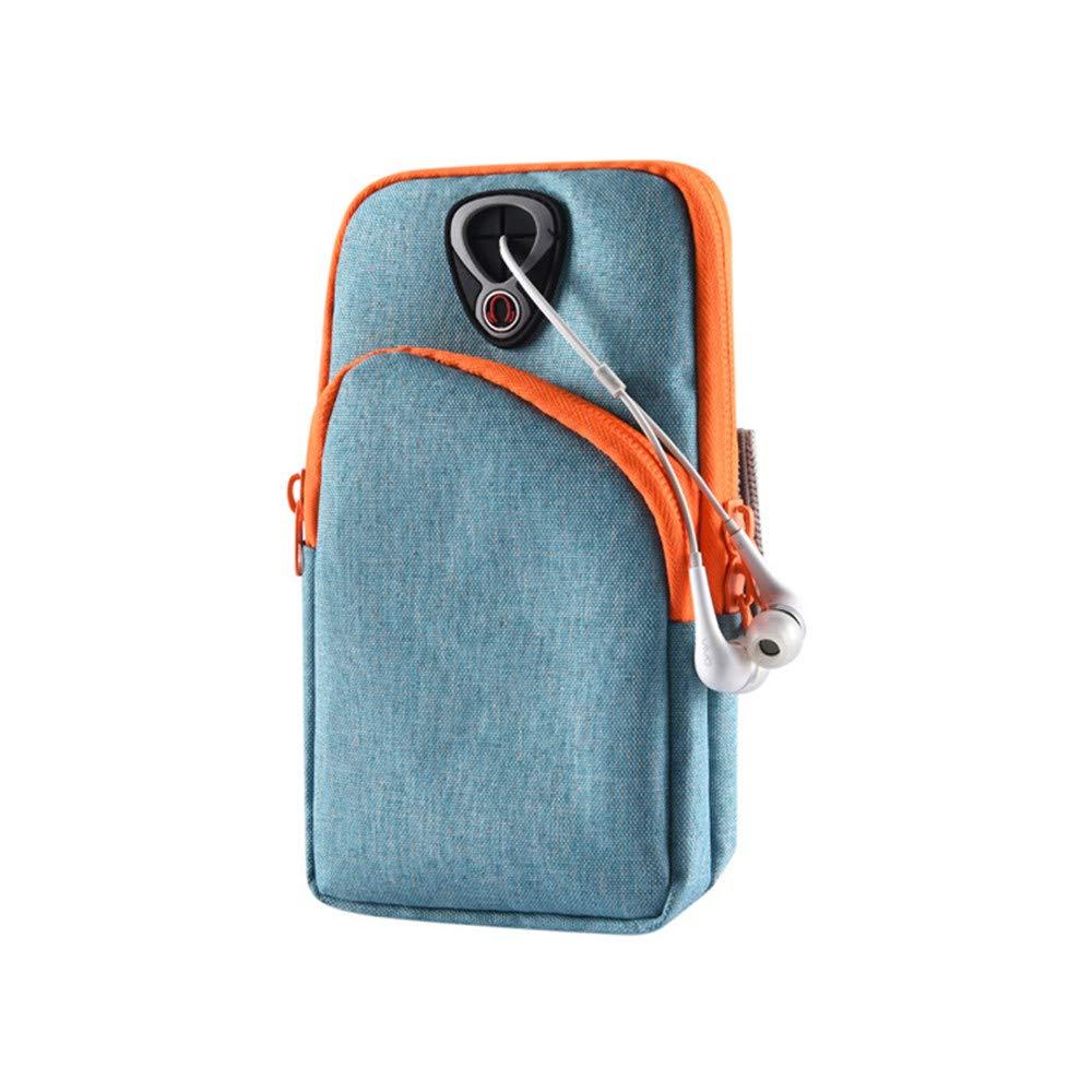 Sac de bras ext/érieur Running Arm Bag Sac imperm/éable Poignet Brassard Sport Sweatproof respirant /élastique cas de t/él/éphone portable pour empreinte digitale D/éverrouiller la cl/é cas et portefeuille,