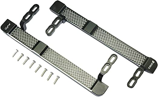 For Traxxas TRX-4 Metal SIDE STEP Board  Bed Step Aluminum