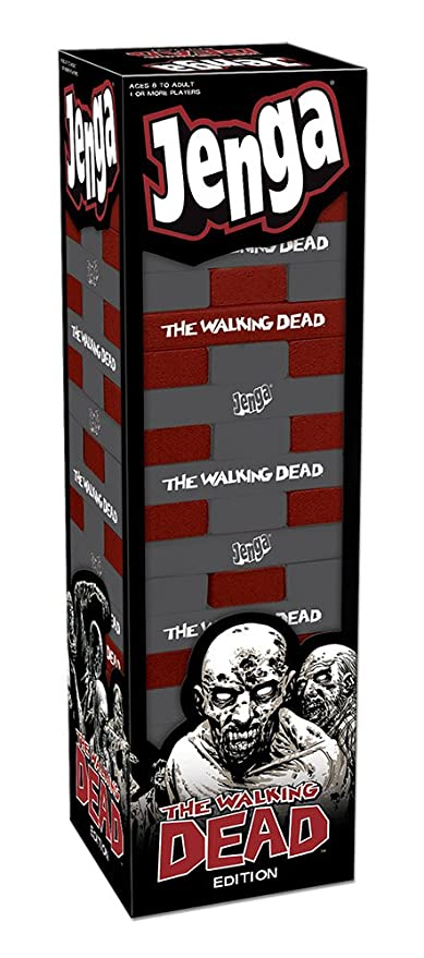 Amazoncom Usaopoly Jenga The Walking Dead Game Game Toys Games