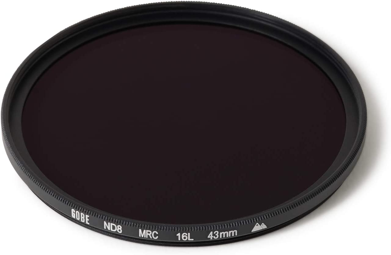 Gobe 43mm ND8 Stop Lens Filter 2Peak