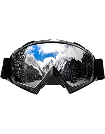Horizontal Screen Glasses Motorcycle Cross-country Goggles Riding Goggles Outdoor Glasses Anti-fog Goggles Motorcycle Glasses Motorcycle Accessories & Parts