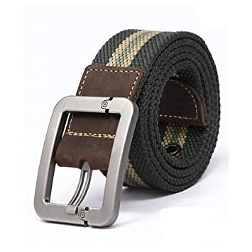 aspetto dettagliato risparmi fantastici scarpe esclusive Cintura Uomo - Casual Belt/Stile Regolabile Cinghia/Cinghia Tela ...