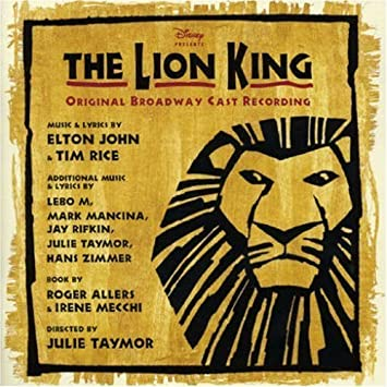 The Lion King Original Broadway Cast By Avex Trax Japan
