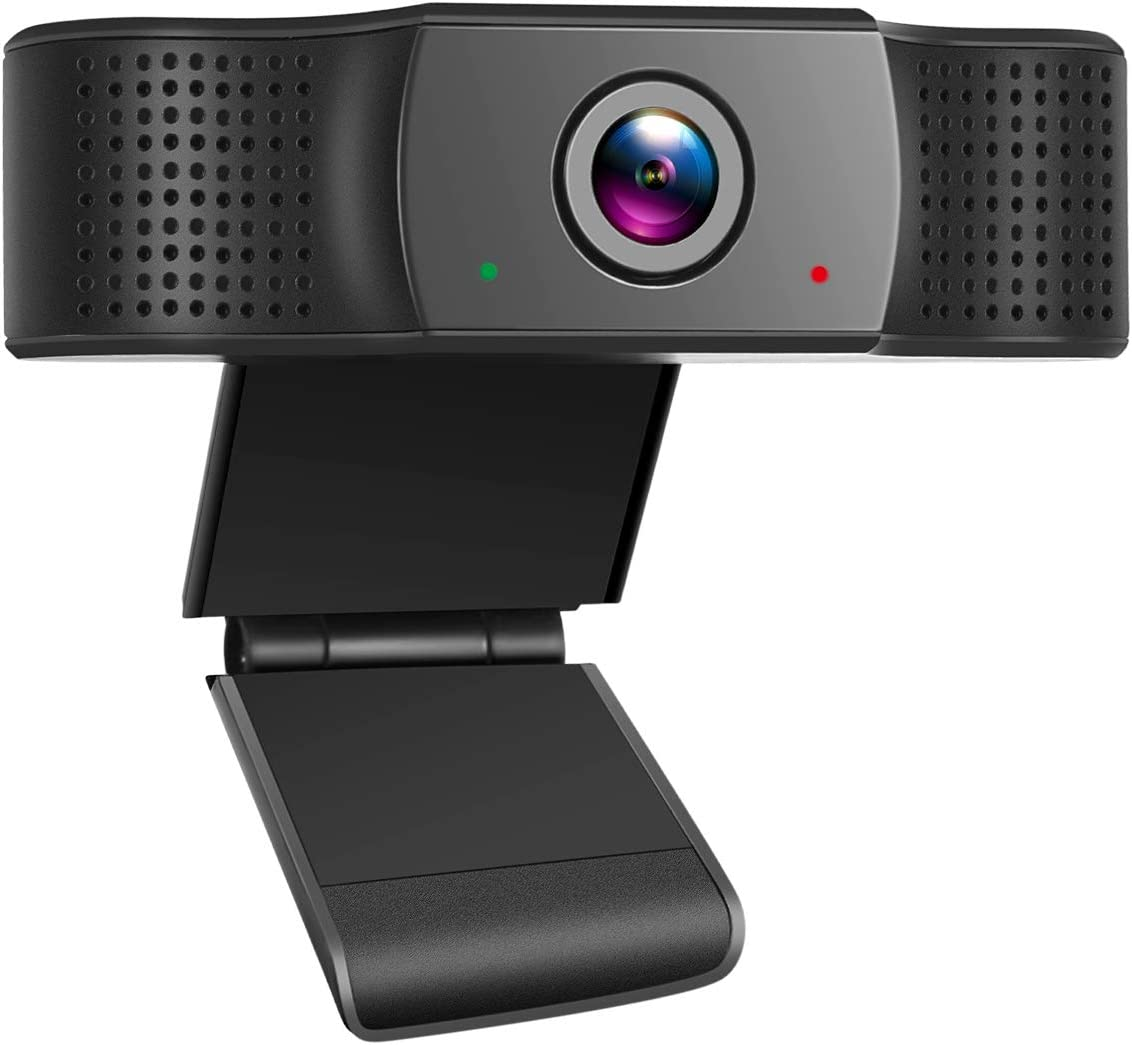 1080P Webcam with Microphone, USB 2.0 Desktop Laptop Computer Web Camera for Windows Mac OS, for Video Streaming, Conference, Gaming, Online Classes, Plug and Play, HD Streaming Web Camera