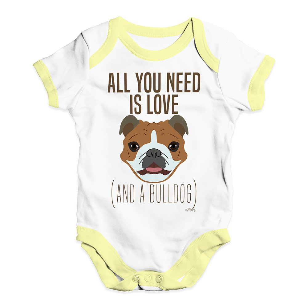 Amazon.com: Twisted Envy All You Need Is A Bulldog bebé ...