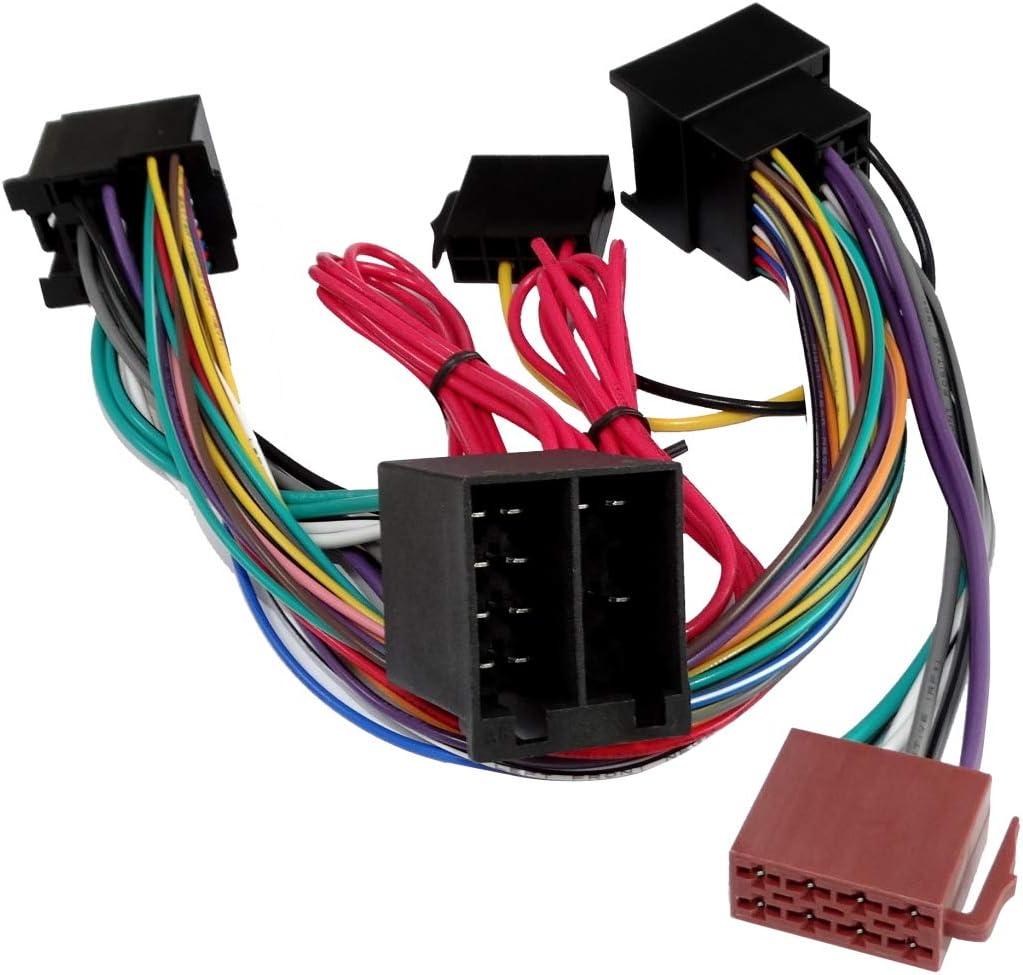 AERZETIX Cavo adattatore per autoradio per linstallazione del Kit Vivavoce KML per il connettore originale del sistema audio per auto C43415
