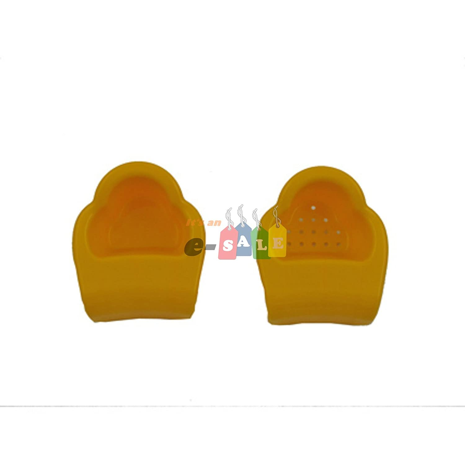 Cups Feet Replacement Set of Two Model BCF41 for Fisher Price Penguin Pal Tub 2