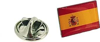 Gemelolandia | Pin de Solapa Bandera España Version III | Pines Originales y Baratos Para Regalar | Para las Camisas, la Ropa o para tu Mochila | Detalles Divertidos