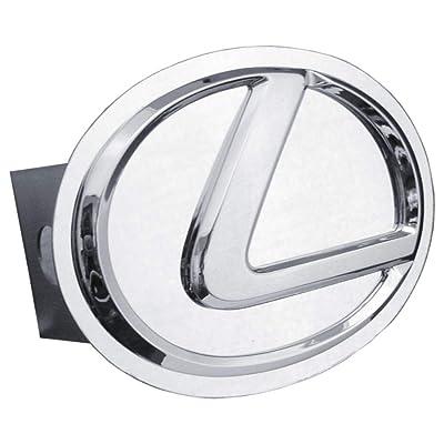 Lexus 3D Chrome Logo Metal Tow Hitch Cover, Official Licensed: Automotive