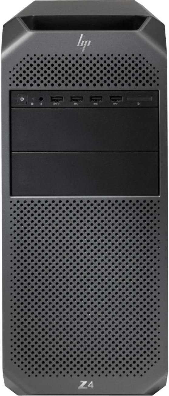 HP Z4 G4 Workstation 1 x Intel Xeon W-2123 Quad-core 3.6GHz 8GB DDR4 SDRAM 1TB HDD Windows 10 Pro 64-bit (English) Mini-Tower Black