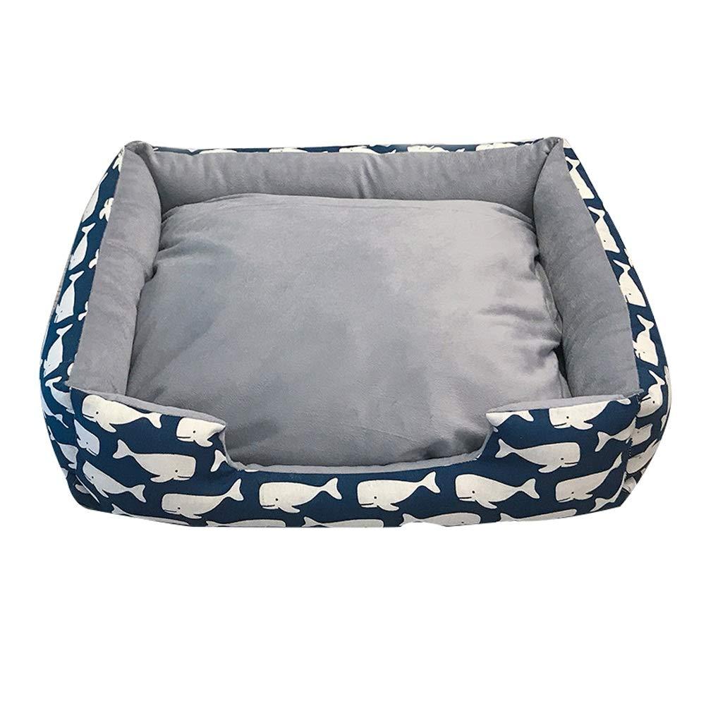 B M B M Pet house Hound Comfort Bed-4 colors, 4 sizes (color   B, Size   M)