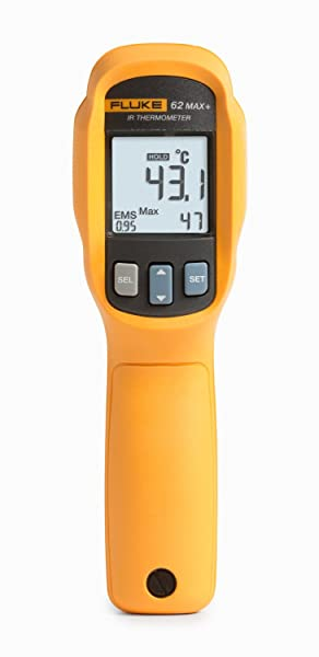 Fluke 62 MAX plus Digital Infrared Thermometer is one of the best IR thermometers
